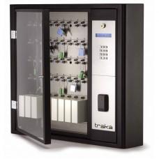 Электронная ключница Серия S до 40 ключей с блокировкой брелков iFib, со считывателем и кодонаборной панелью, в комплекте 40 брелков iFob