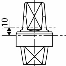MA0362S0 (AC362) - шпиндель 10 мм
