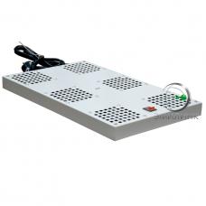 NTSS-SFAN6/10 Вентиляторный модуль СТАНДАРТ 6 элементов потолочный без термостата для напольных шкафов с глубиной 1000мм