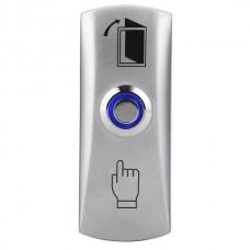 AT-H805A LED Кнопка выхода металлическая,накладная
