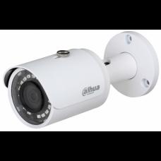 DH-HAC-HFW1220SP-0280B Видеокамера HDCVI Уличная цилиндрическая мультиформатная (4 в 1) 1080P