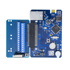 ЭРА-10000V2 Сетевой контроллер, подключение по сети Ethernet, поддержка до 2-х точек прохода