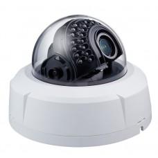 DC-D3233RX 2-мегапиксельная купольная видеокамера с поддержкой кодека H.265, широким динамическим диапазоном (True-WDR) и с ИК-подсветкой