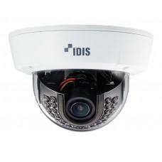 DC-D3233WRX 2-мегапиксельная купольная видеокамера с поддержкой кодека H.265, широким динамическим диапазоном (True-WDR), с ИК-подсветкой антивандального исполнения