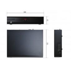 DR-2304P 4-канальный Full HD IP-видеорегистратор с поддержкой кодека H.265