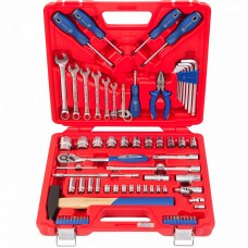 МАСТАК 0-077C набор инструментов универсальный, 77 предметов