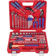 МАСТАК 0-085C набор инструментов универсальный, 85 предметов мастак 0-085c