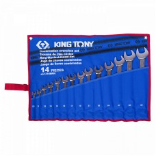 1214MRN набор комбинированных ключей, 10-32 мм, 14 предметов KING TONY