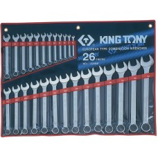 1226MR набор комбинированных ключей, 6-32 мм, 26 предметов KING TONY