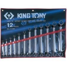 1712MR набор накидных ключей, 6-32 мм, 12 предметов KING TONY