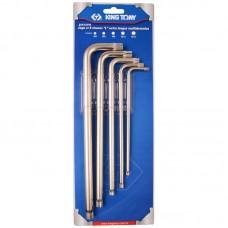 20515PR01 набор г-образных spline, m5-m12, блистер, 5 предметов KING TONY