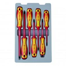 30617MR набор отверток, диэлектрические, 7 предметов KING TONY