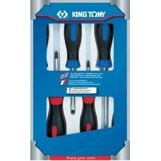31116MR набор отверток, 6 предметов KING TONY