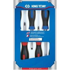 31116MR01 набор отверток, 6 предметов KING TONY