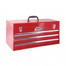 МАСТАК 511-03530R ящик инструментальный, 3 полки, красный.
