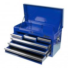 МАСТАК 511-06570B ящик инструментальный, 6 полок, синий