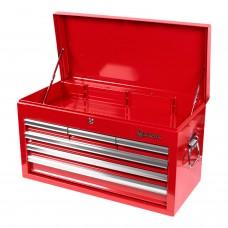 МАСТАК 511-06570R ящик инструментальный, 6 полок, красный