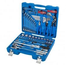 7587SR01 набор инструментов универсальный, дюймовый, 87 предметов KING TONY