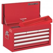 87411-6B ящик инструментальный, 6 ящиков и отсек, красный KING TONY