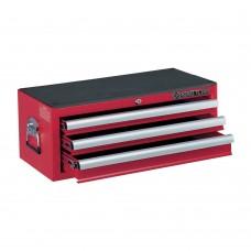 87421-3B ящик инструментальный, 3 ящика, красный KING TONY