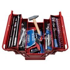 902-089MR01 набор инструментов универсальный, раскладной ящик, 88 предметов KING TONY