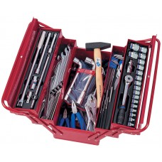 902-103MR набор инструментов универсальный, раскладной ящик, 103 предмета KING TONY