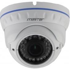 MR-IDNVM102A купольная IP-видеокамера Master