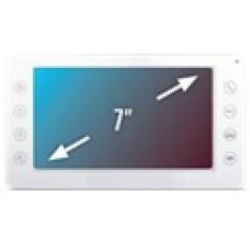 """QM-750C Цветной 4-x проводный, 7"""" LCD TFT (800х480) видеодомофон."""