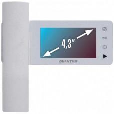 QM-434C Цветной 4-x проводный, 4.3'' TFT LCD (320х240) видеодомофон.