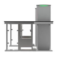 MST150 Металлодетектор панельный совмещённый с турникетом