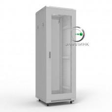 """NTSS-R22U6060PD 19"""" напольный шкаф """"ПРЕМИУМ"""" 22U 600x600 мм, передняя дверь перфорация"""