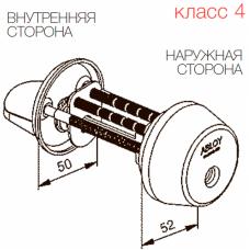 Цилиндр с поворотной кнопкой CY039 ABLOY