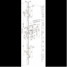 MP518 ABLOY- моторный замок многоточечного запирания для металлических и деревянных дверей.
