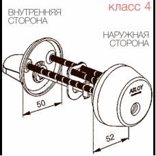Цилиндр с поворотной кнопкой CY013 ABLOY