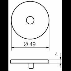 Покрывающий щиток LH001 Р ABLOY