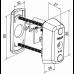 Электронный цилиндр CLIQ односторонний CYL063 ABLOY